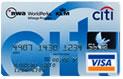 ノースウエスト/シティ ワールドパークス VISA クラシックカード